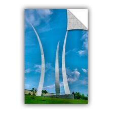 ArtApeelz Air Force Memorial by Steve Ainsworth Photographic Print on Canvas