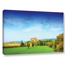 Italian Castle by Dragos Dumitrascu Photographic Print on Wrapped Canvas