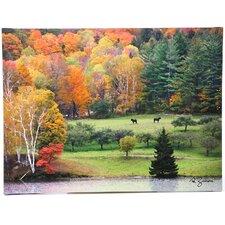 """Killington Vermont"" by George Zucconi Canvas Art"