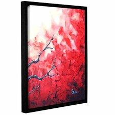 Ruby by Shiela Gosselin Gallery-Wrapped Floater-Framed Canvas