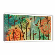 Veronique Charron Colorful Natural Graphic Art on Wrapped Canvas