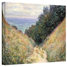 'Footpath' by Claude Monet Painting Print on Canvas