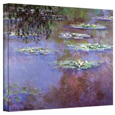 ''Sea Roses II'' by Claude Monet Painting Print on Wrapped Canvas