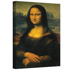 """Mona Lisa"" by Leonardo Da Vinci Painting Print on Canvas"