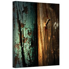 ''Wood and Nail'' by Mark Ross Photographic Print on Canvas