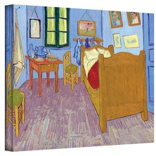 ''The Bedroom'' by Vincent Van Gogh Painting Print on Canvas