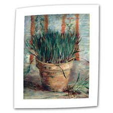 """Chives"" by Vincent van Gogh Painting Print on Canvas"