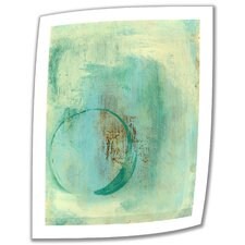 'Teal Enso' by Elena Ray Photographic Print on Canvas Poster