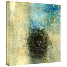 'Bird Nest' by Elena Ray Mixed Media Print on Canvas