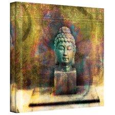 'Buddha' by Elena Ray Mixed Media Print on Canvas
