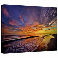 'The Sunset' by David Liam Kyle Photographic Print on Wrapped Canvas