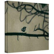 'Yoga Bird 1' by Elena Ray Painting Print on Canvas