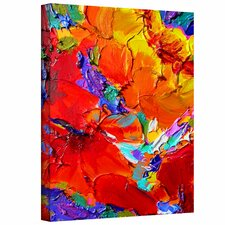 """Charlits Floral"" by Susi Franco Painting Print on Canvas"