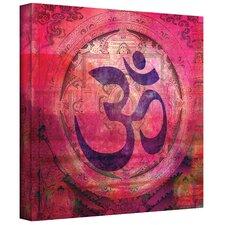 """Om Mandala"" by Elena Ray Graphic Art on Canvas"
