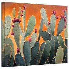 Cactus Orange by Rick Kersten Painting Print on Canvas