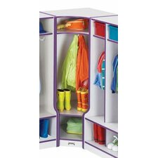 KYDZ Rainbow 1-Section Corner Coat Locker