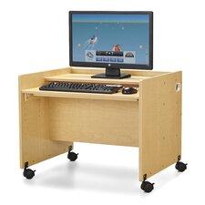 "MapleWave® Enterprise 24"" Single Computer Desk"