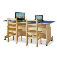 Apollo Wood Computer Desk