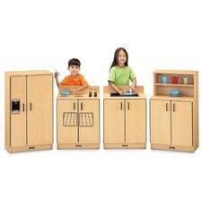 ThriftyKYDZ 4 Piece Birch Kitchen Set