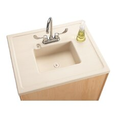 "Portable Sink 28"" x 23.5"" Single Clean Hands Helper"