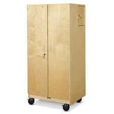 Hideaway Mobile Storage Cabinet