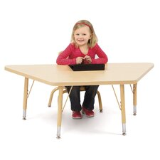 Berries Trapezoidal Classroom Table