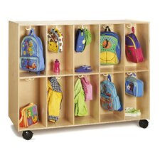 20 Section Mobile Backpack Cubby