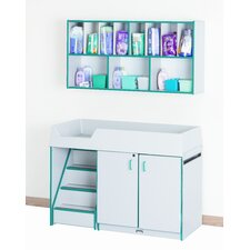 Left Diaper Changer with Stairs