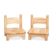 "Jonti-Craft 7"" Wood Classroom Chair (Set of 2)"