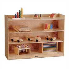 "ThriftyKYDZ 35.5"" Mobile Bookcase with Lip"