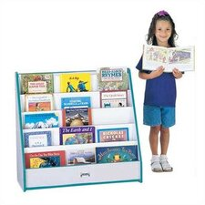 Rainbow Accents Pick-a-Book Stand with 1 Sided Flush Back
