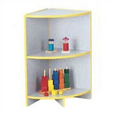 Rainbow Accents KYDZ Curves Corner Bookcase