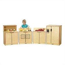 4 Piece Kinder-Kitchen Set
