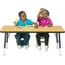 "KYDZ 48"" x 30"" Rectangular Classroom Table"