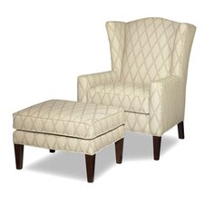 Imperial Chair and Ottoman