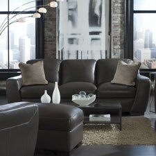 Alpha Leather Sofa