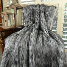 Siberian Husky Faux Acrylic Blanket