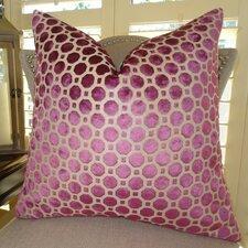 Velvet Geo Handmade Throw Pillow - Double Sided