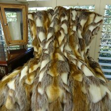 Brandy Fox Handmade Faux Acrylic Blanket