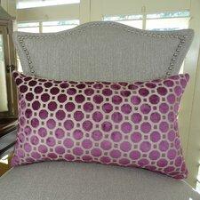 Velvet Geo Handmade Throw Pillow