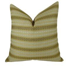 Full Stripe Handmade Throw Pillow