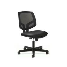 Volt Mesh-Back Leather Task Chair with Synchro Tilt