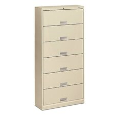 "600 Series 13.75""D 6-Drawer Lateral File"