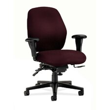 7800 Series Mid-Back Task Chair with Arms