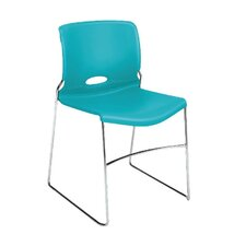 Olson-4040 Series Armless High-Density Stacking Chair (Set of 4)
