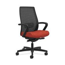 Endorse Mesh Mid-Back Task Chair in Grade III Arrondi Fabric