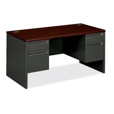 38000 Series Double Pedestal Executive Desk