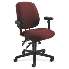 7700 Series High-Back Performance Conference Chair with Seat Glide