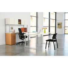 Voi Executive Desk with Stack On Storage