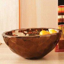 Bronze Nugget Oval Serving Bowl